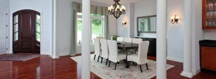 European Builder Formal Dining Room