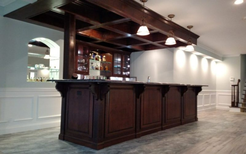 European Builder Custom Designed Bar